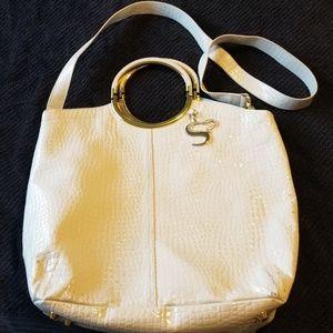 Serena Williams Shoulder Bag/Purse White Gold